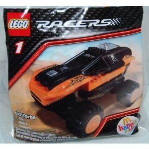 McDonalds Happy Meal 2009 Lego (レゴ) Racers - 6X2 Turbo #1 ブロック おもちゃ