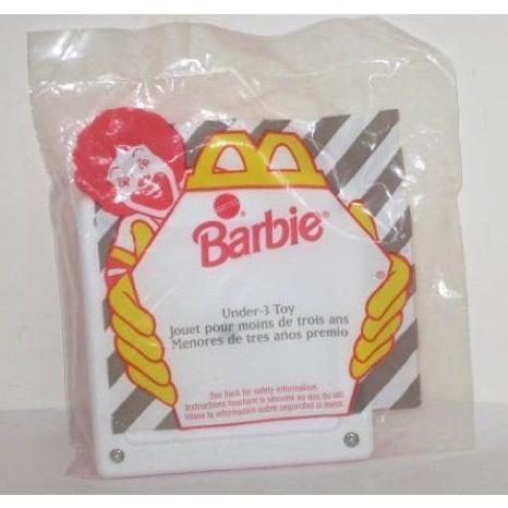 McDonalds Happy Meal Barbie(バービー) Under 3 Mattel (マテル社) Toy 1995 ドール 人形 フィギュア