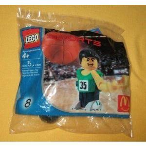 MCDONALDS HAPPY MEAL: LEGO (レゴ) SPORTS #8 ブロック おもちゃ