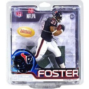 McFarlane (マクファーレン) ARIAN FOSTER collectors club Exclusive NFL 31 Rookie figure Houston Tex
