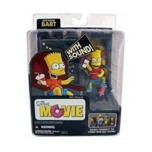 McFarlane シンプソンズ Movie Mayhem Bart Simpson フィギュア with Sound 131002fnp