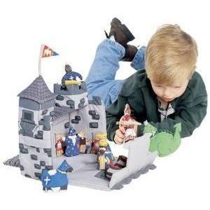 Medieval Castle Play Set By Pockets of Learning ブロック おもちゃ