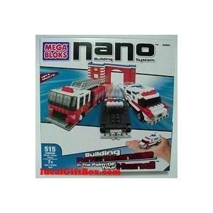 Mega Bloks (メガブロック) : Nano-Tropolis Emergency Response ブロック おもちゃ