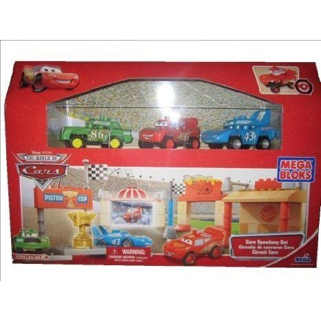 Mega Bloks (メガブロック) 7775 Disney (ディズニー) Cars Speedway Set ブロック おもちゃ