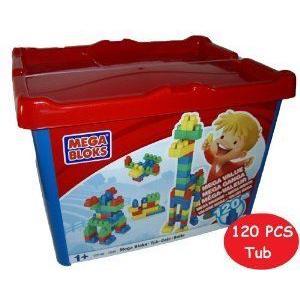 Mega Bloks (メガブロック) Bucket (120) ブロック おもちゃ