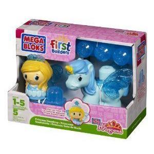 Mega Bloks (メガブロック) First Builders Lil' Princess Dewdrop ブロック おもちゃ
