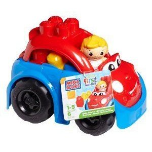 Mega Bloks (メガブロック) First Builders Ricky Race Car ブロック おもちゃ