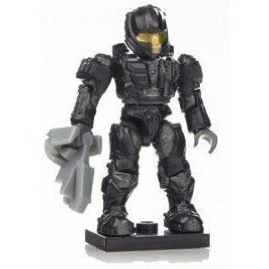 Mega Bloks (メガブロック) Halo (ヘイロー)eries 7 黒 UNSC Spartan CQB Rare Factory Sealed ブロッ
