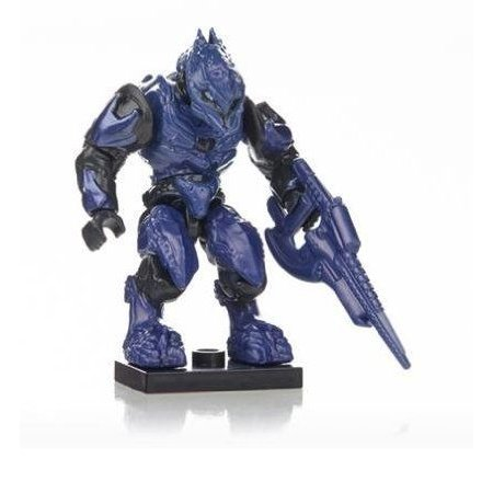 Mega Bloks (メガブロック) Halo (ヘイロー)eries 7 青 Covenant Elite Zealot Common Factory Sealed