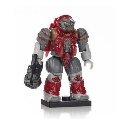 Mega Bloks (メガブロック) Halo (ヘイロー)eries 7 Crimson Brute Jump Pack Rare ブロック おもちゃ