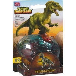 Mega Bloks (メガブロック) Plasma Dinosaurs Tyrannogon T-Rex 9554 ブロック おもちゃ