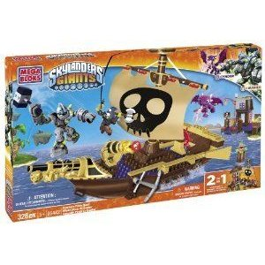 Mega Bloks (メガブロック) Skylanders Crusher's Pirate Quest ブロック おもちゃ