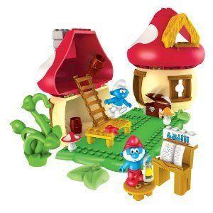 Mega Bloks (メガブロック) The Smurf (スマーフ) 's: Papa Smurf (スマーフ) 's House プレイセット ブ