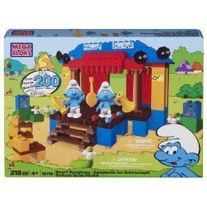 Mega Bloks (メガブロック) The Smurf (スマーフ) Symphony Super Set ブロック おもちゃ