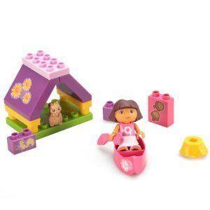 Megabloks Dora's Camping Adventure ブロック おもちゃ