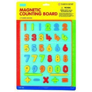 megcos Magentic Counting Board ブロック おもちゃ