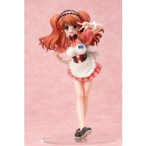 Melancholy of Haruhi Suzumiya: Mikuru Asahina Waitress Ver. 1/8 Scale PVC Statue フィギュア おもち