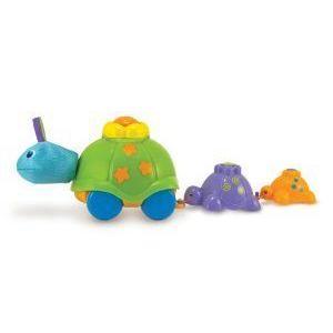 Melissa & Doug (メリッサ&ダグ メリッサ アンド ダグ) K's Kids Turtle Parade Learning Toy ブロック