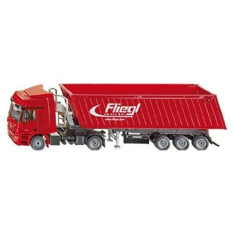 Mercedes Benz Actros Transporter with Fleigl Tipping Trailer フィギュア おもちゃ 人形