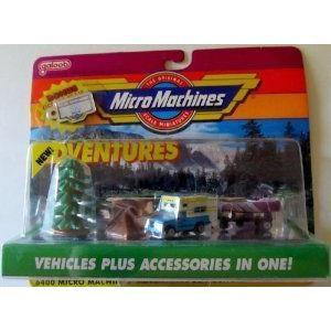 Micro Machines Outdoor Adventure コレクション #1 ミニカー ミニチュア 模型 プレイセット自動車 ダイ