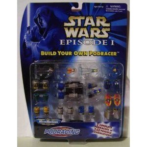 Micro Machines Star Wars (スターウォーズ) Episode I Build your own Podracer assorted colors
