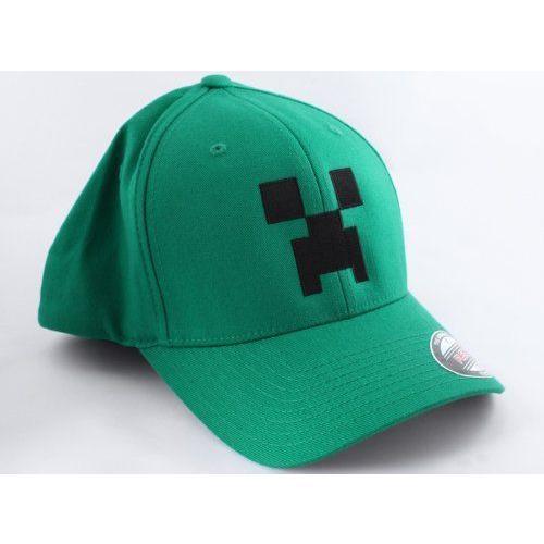Minecraft 緑 Large/X-Large Creeper Flexfit Hat フィギュア ダイキャスト 人形