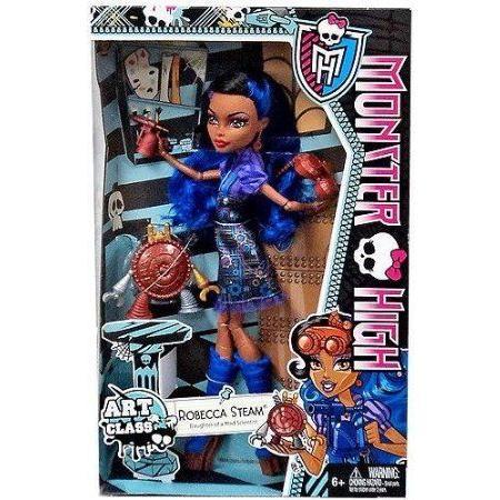 Monster High (モンスターハイ) Art Class Dolls-Robecca Steam ドール 人形 フィギュア