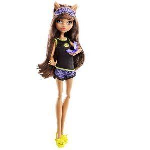 Monster High (モンスターハイ) Dead Ti赤 Clawdeen Wolf Doll ドール 人形 フィギュア