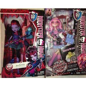 Monster High (モンスターハイ) Exclusive Rare Lot: Viperine Gorgon & Jane Boolittle! ドール 人形 フ
