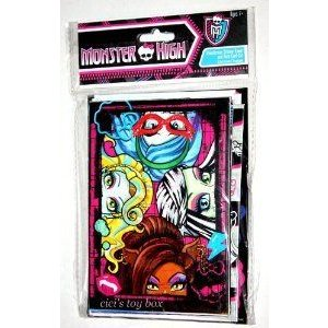 Monster High (モンスターハイ) NOTE CARD & STICKERS SET ドール 人形 フィギュア