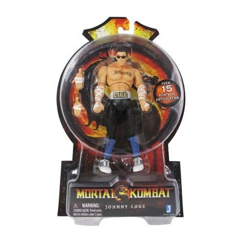 Mortal Kombat MK9 6 inch Action Figure Johnny Cage フィギュア ダイキャスト 人形