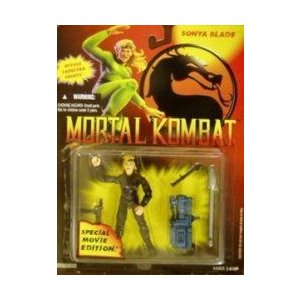 Mortal Kombat Sonya Blade Special Movie Edition フィギュア 1994 131002fnp