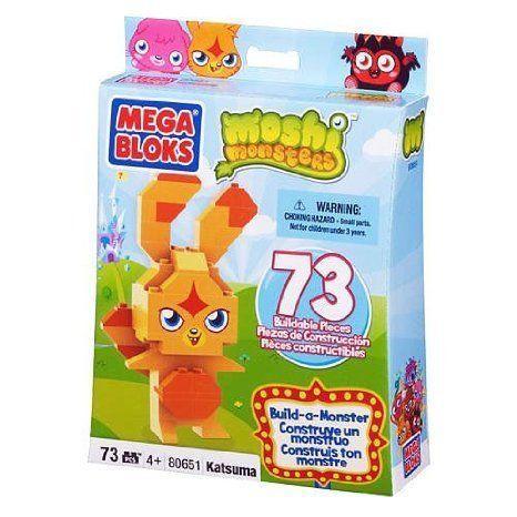 Moshi Monsters (モシモンスターズ) Mega Bloks (メガブロック) Build-a-Monster Katsuma [80651] ブロッ