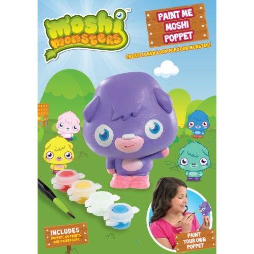 Moshi Monsters モシモンスターズ Paint Me Moshi Poppet フィギュア 人形 おもちゃ