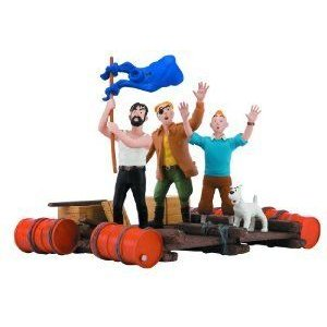 Moulinsart Tintin: The 赤 Sea Sharks Cover Figurine フィギュア おもちゃ 人形