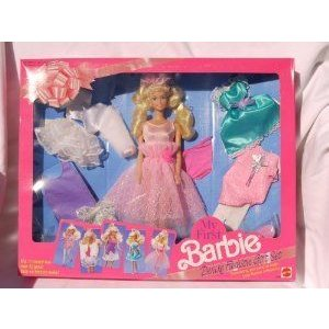 My First Barbie(バービー) Deluxe Fashion Gift Set (ギフトセット) #2483 (1991) ドール 人形 フィギュ