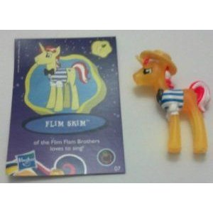 My Little Pony (マイリトルポニー) Friendship Is Magic Flim Skim & Collector Card # 07 Neon Bright