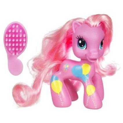 My Little Pony (マイリトルポニー) Ponyville Cutie Mark Design ピンクie Pie Pony Figure ドール 人形