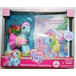 My Little Pony (マイリトルポニー) Rainbow Dash's Special Day pony with DVD