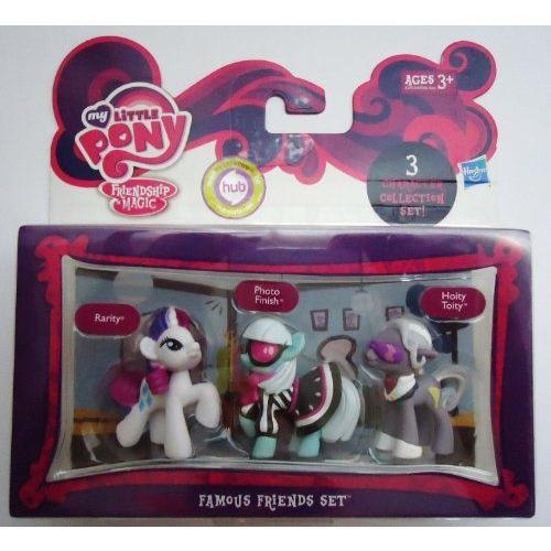 My Little Pony マイリトルポニー Friendship Magic Famous Friends Set フィギュア ダイキャスト 人形