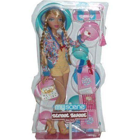 MyScene Street Sweet New York Barbie(バービー) 12 Inch Doll : Kennedy Sweet Treats, Yummy Fashions