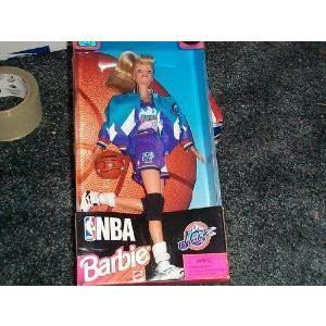 NBA (バスケットボール) Barbie(バービー) Utah Jazz Blonde ドール 人形 フィギュア