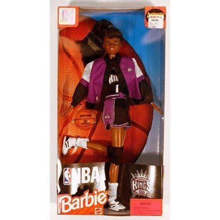 NBA (バスケットボール) Sacramento Kings Barbie(バービー) 黒 20747 ドール 人形 フィギュア