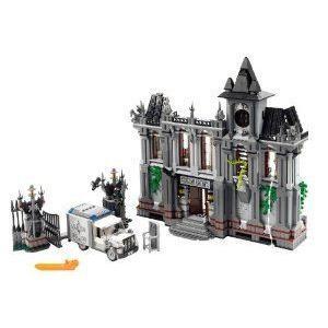 NEW Batman (バットマン) Arkham Asylum From Lego (レゴ) Set 10937 ASYLUM, GATE, VAN, INSTRUCTIONS &