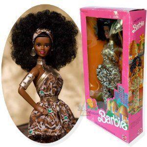 Nigerian Barbie(バービー) ドール 人形 フィギュア