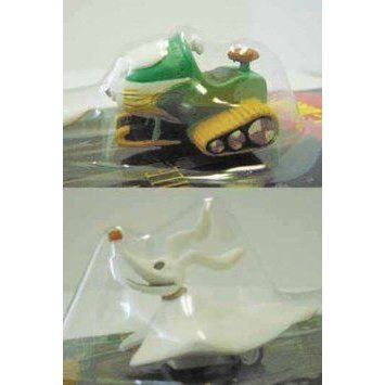 Nightmare Before Christmas (ナイトメア・ビフォア・クリスマス) Zero & Snowmobile Pull-Back Toy Set