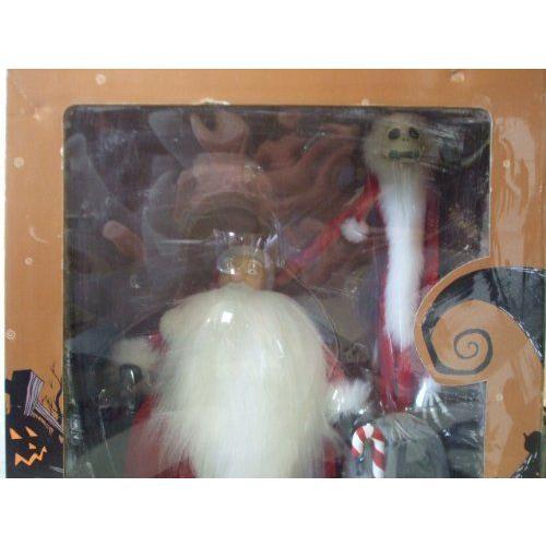 Nightmare Before Christmas ナイトメア・ビフォア・クリスマス Santa Jack & Sandy Claws Figure set フ