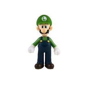 Nintendo Super Mario (スーパーマリオ) Classic 5 Collectible Vinyl フィギュア 人形 - Luigi Mulit フ