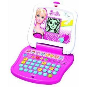 Oregon Scientific Barbie(バービー) Junior Laptop - 白い And ピンク ドール 人形 フィギュア