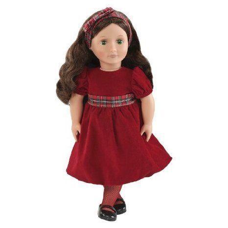 Our Generation 18 Doll Holiday Hannah ドール 人形 フィギュア